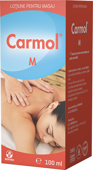Carmol M, 100 ml, Biofarm imagine produs 2021