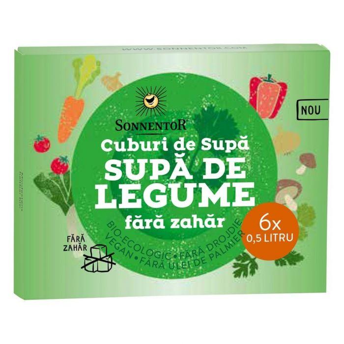 Cub Bio Supa de legume fara zahar, 66g, Sonnentor drmax poza