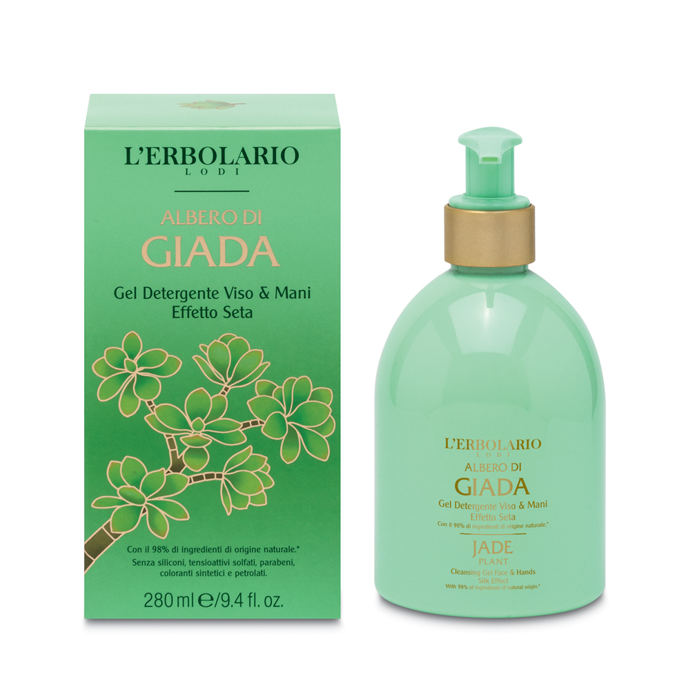 Gel de curatare fata si maini Jade, 280ml, L'Erbolario imagine produs 2021
