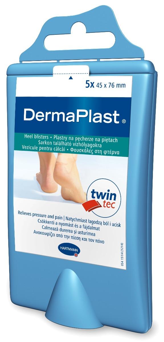 Plasturi pentru vezicule calcai, 5 bucati, Dermaplast Hydro