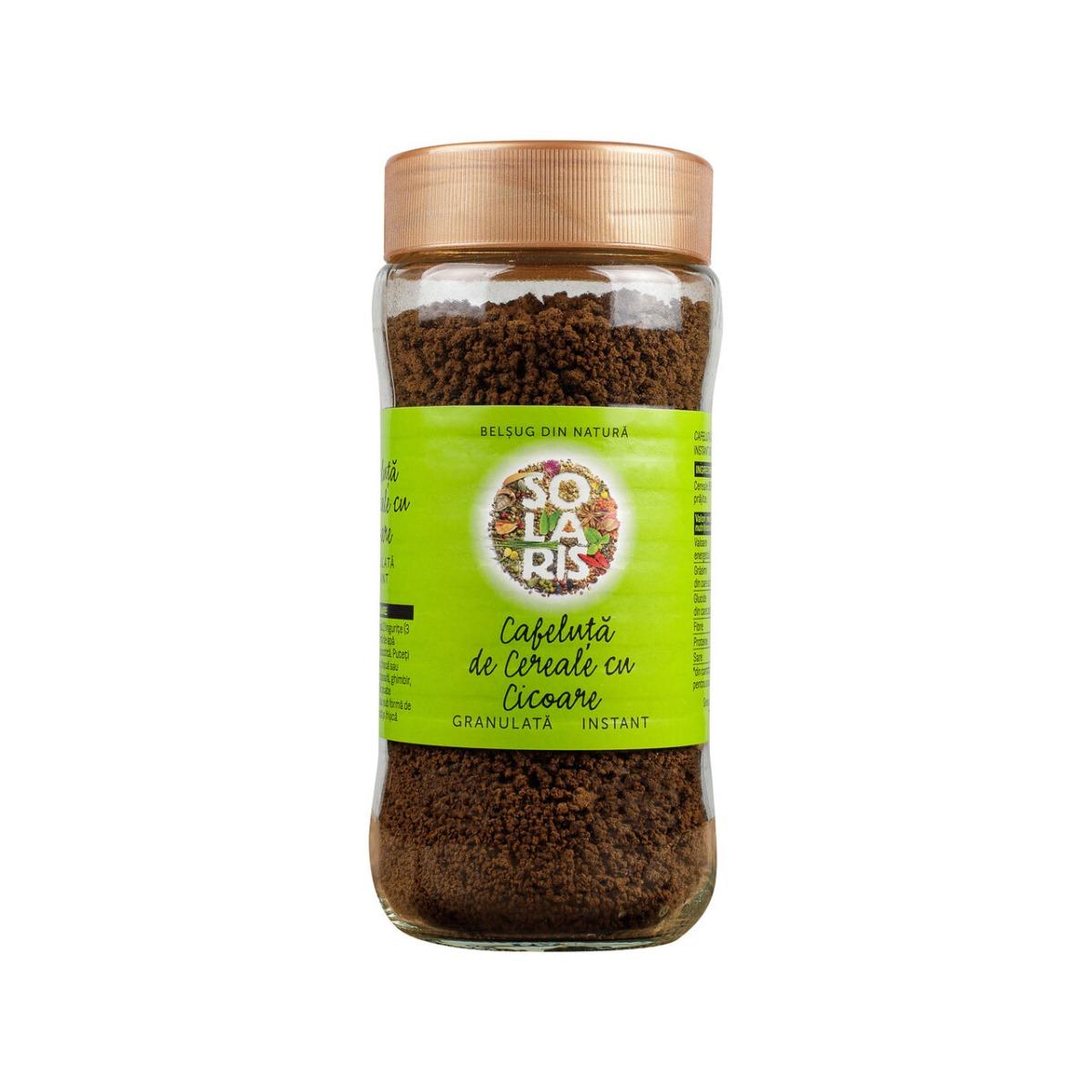 Cafeluta de cereale cu cicoare granulata, 100g, Solaris drmax.ro