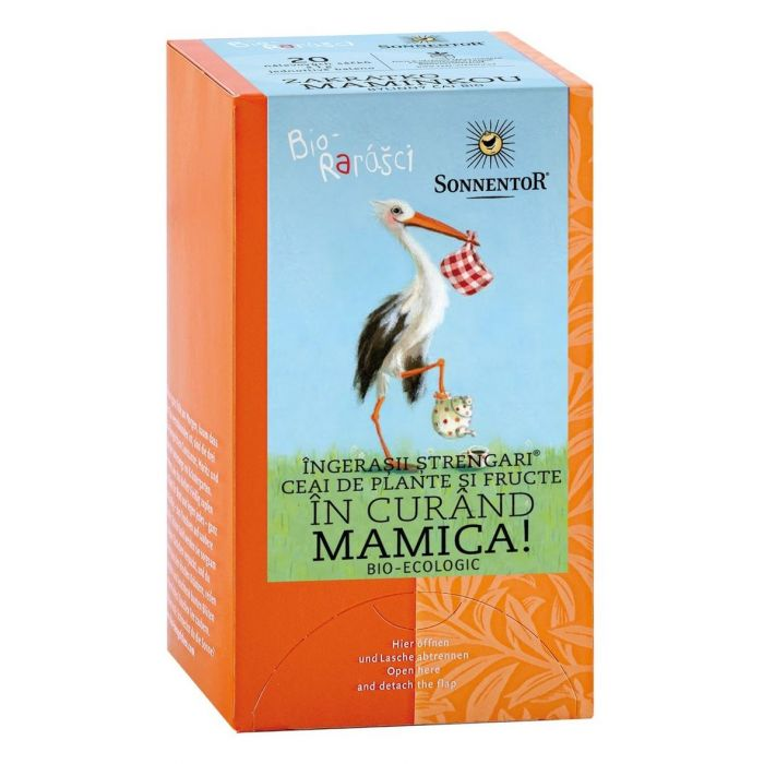 Ceai Bio Ingerasii Strengari In Curand Mamica!, 20 plicuri, Sonnentor drmax poza
