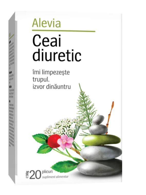 Ceai diuretic, 20 plicuri, Alevia drmax poza