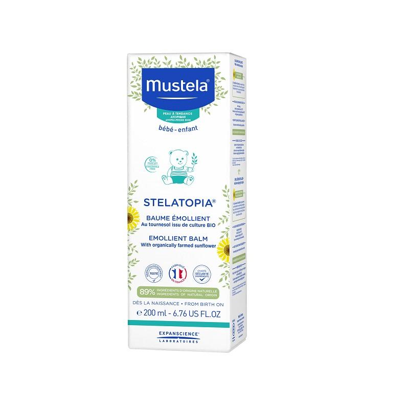 Balsam emolient Stelatopia, 200ml, Mustela imagine produs 2021