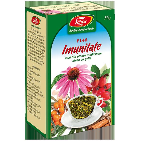 Ceai Imunitate, 50 g, Fares drmax.ro