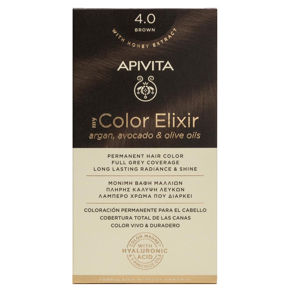 Vopsea My Color Elixir, N4.0, Apivita drmax.ro