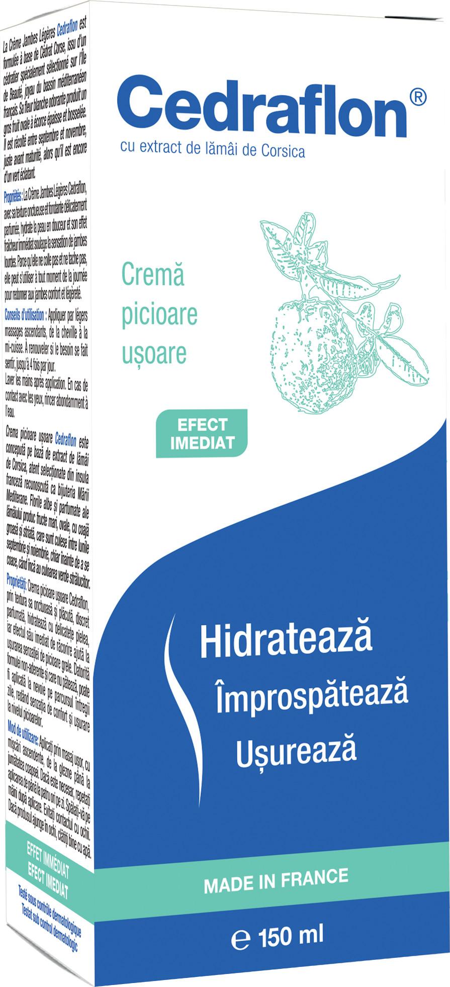 Crema pentru picioare Cedraflon, 150 ml, Servier Healthcare drmax.ro