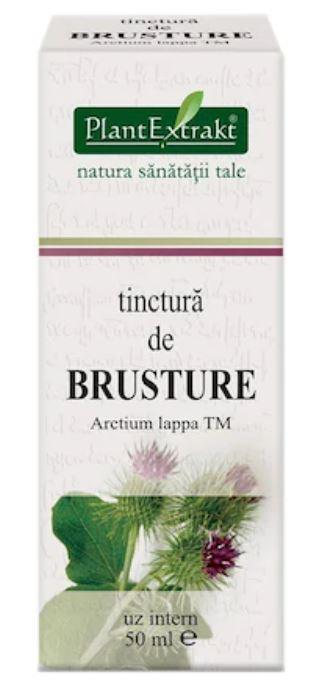 Tinctura de brusture, 50ml, Plantextrakt imagine produs 2021