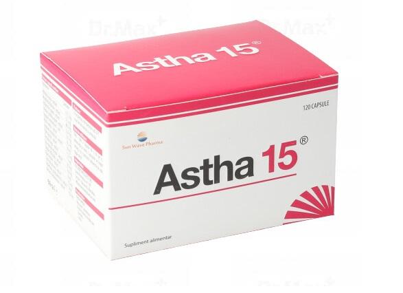 Astha 15, 120 capsule, Sunwave drmax poza