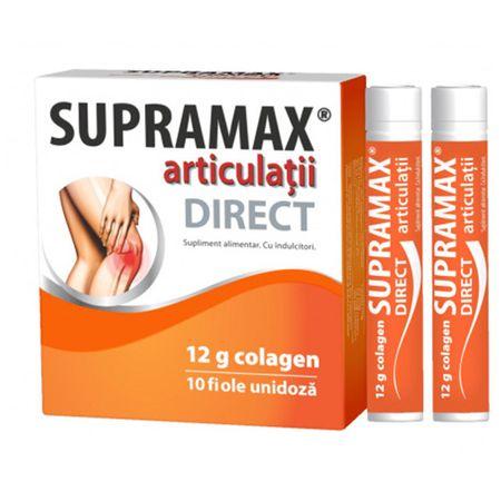 Supramax articulatii Direct 12g colagen, 10 fiole, Zdrovit drmax poza