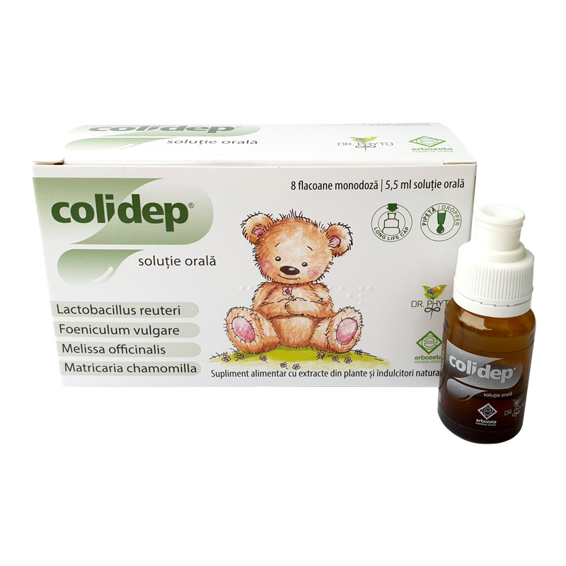 Colidep, 8 flacoane, Dr. Phyto