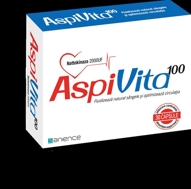 AspiVita 100, 30 capsule, Sanience imagine produs 2021