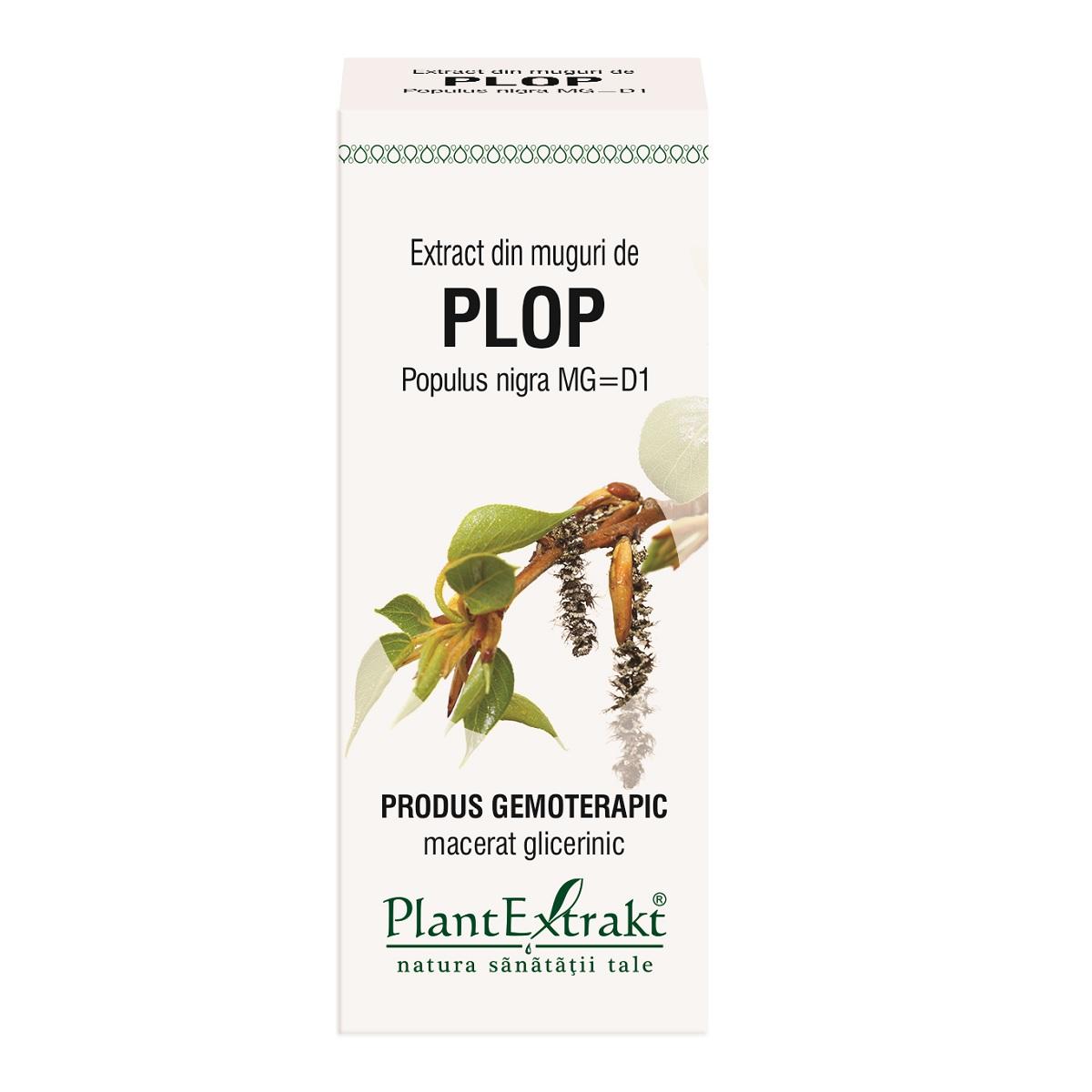 Extract din muguri de Plop, 50ml, Plantextrakt drmax.ro