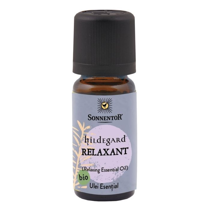 Ulei Bio Esential Relaxant - Hildegard, 10ml, Sonnentor drmax.ro