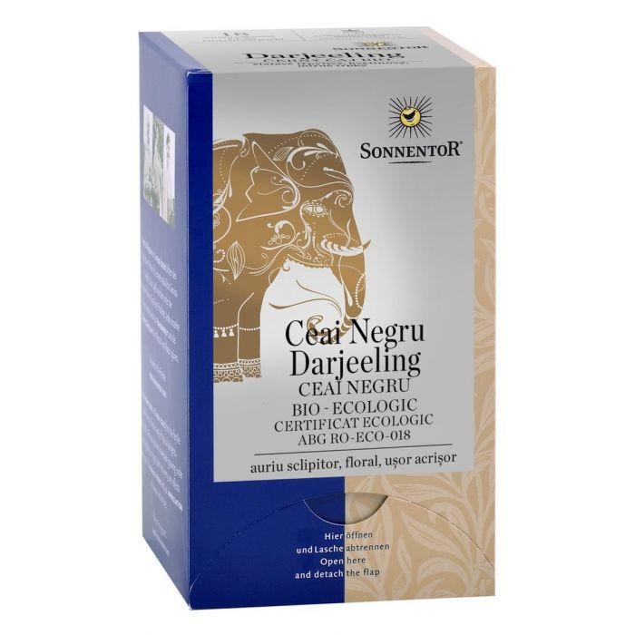 Ceai Bio Negru Darjeeling (Camelia sinensis), 18 plicuri, Sonnentor