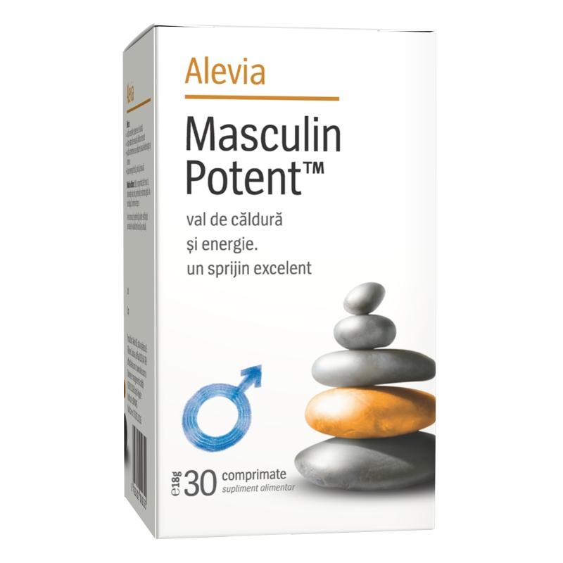 Masculin Potent, 30 comprimate, Alevia drmax.ro