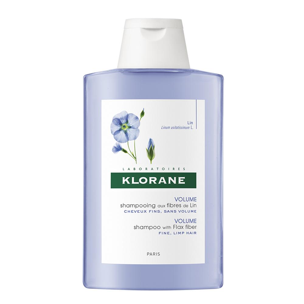 sampon pentru volum cu extract din fibra de in, 200 ml, Klorane
