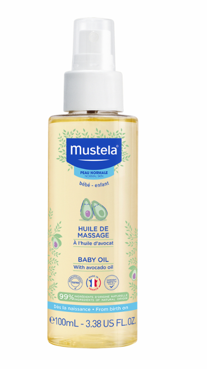 Ulei pentru masaj bebe, 100 ml, Mustela drmax poza