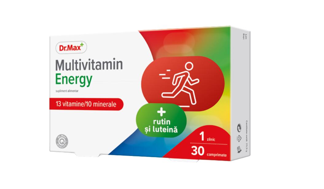 Dr.Max Multivitamin Energy, 30 comprimate imagine produs 2021