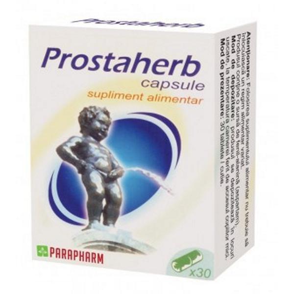 Prostaherb, 30 capsule, Parapharm drmax poza