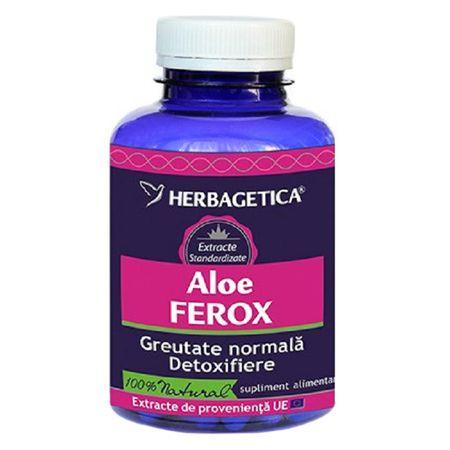 Aloe Ferox, 30 capsule, Herbagetica imagine produs 2021
