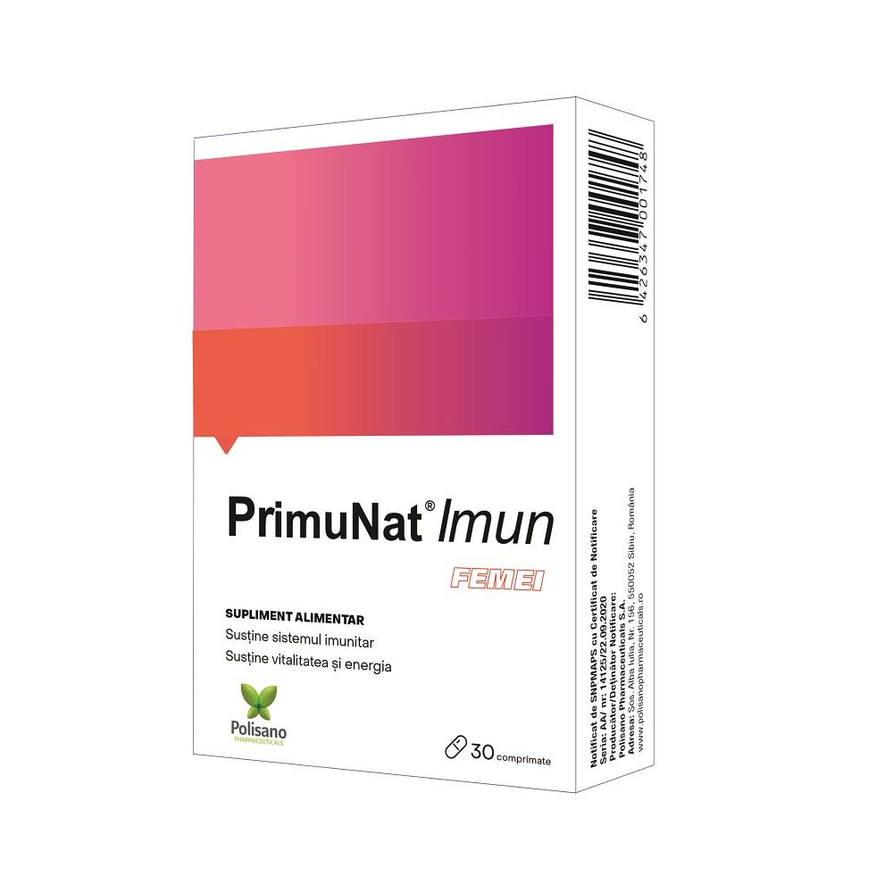 PrimuNat Imun pentru femei, 30 comprimate, Polisano drmax.ro