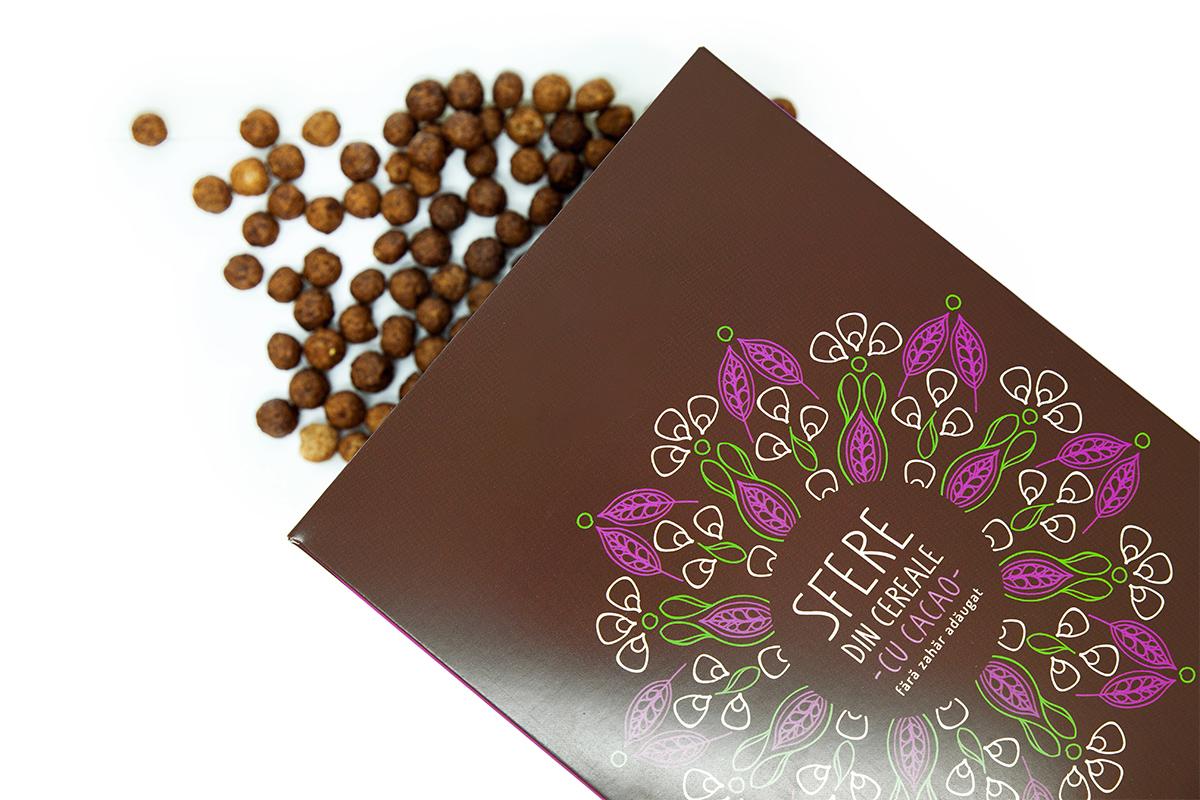 Sfere cacao cu indulcitor natural (Green Sugar), 200g, Sweeteria drmax.ro