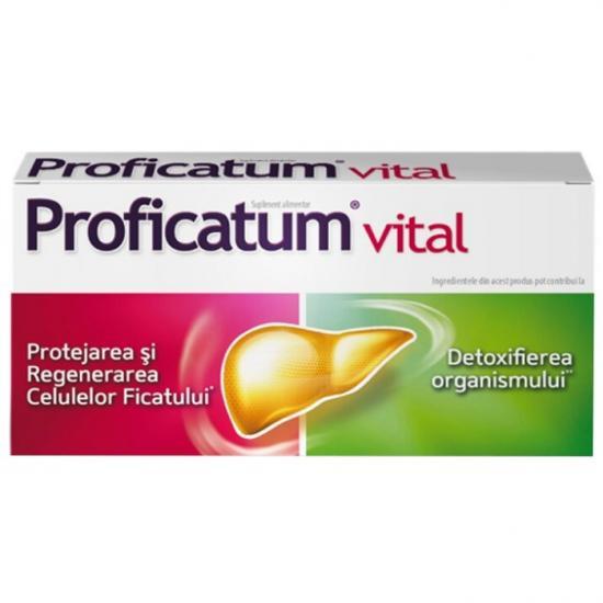 Proficatum Vital, 20 capsule, Aflofarm drmax.ro