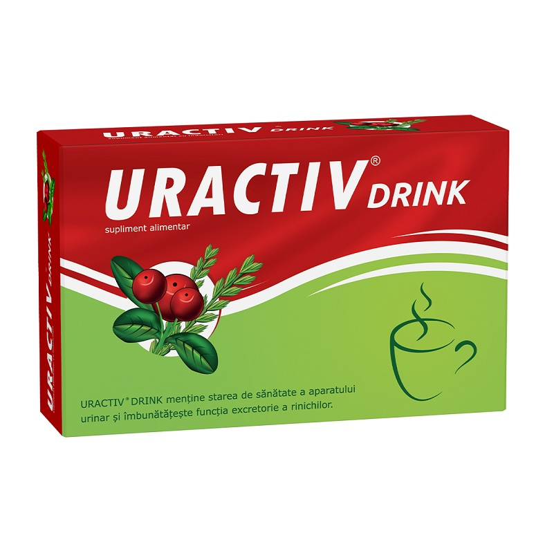 Uractiv Drink, 8 plicuri, Fiterman imagine produs 2021