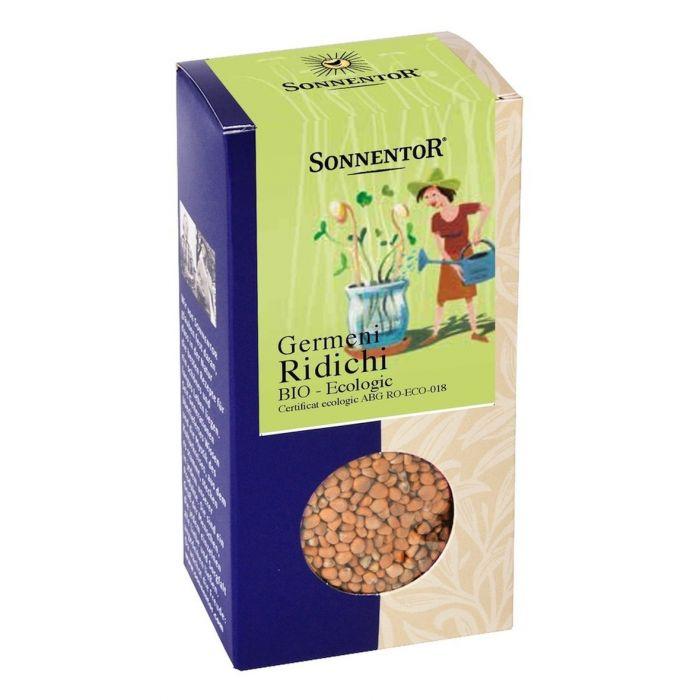 Seminte Bio - Germeni Ridichi, 120g, Sonnentor drmax.ro