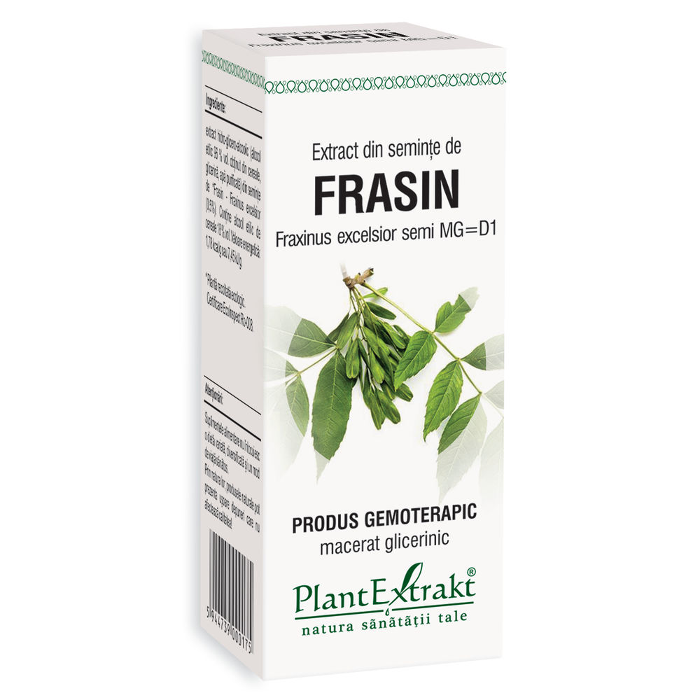 Extract din seminte de frasin, 50ml, PlantExtrakt drmax.ro