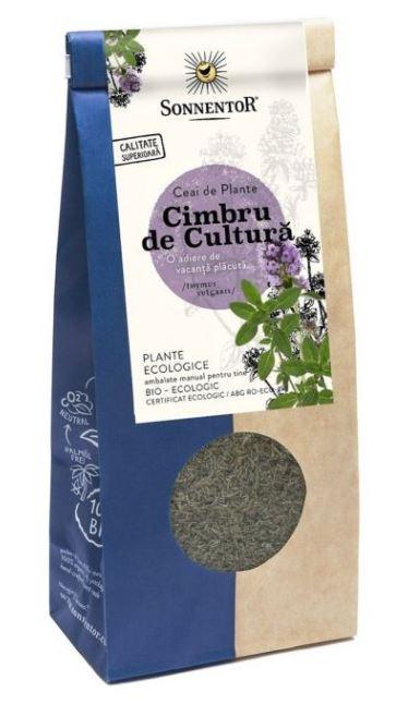 Ceai Bio Cimbru de cultura (Thymus vulgaris L.) , 70g, Sonnentor drmax.ro