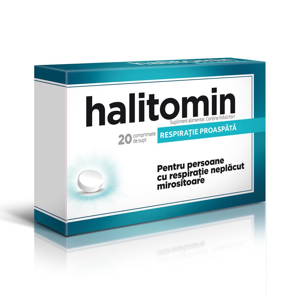 Halitomin, 20 comprimate, Aflofarm la preț mic imagine