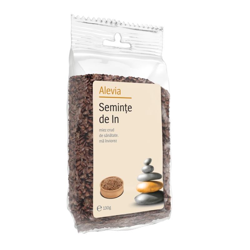 Seminte de In, 130 g, Alevia imagine produs 2021