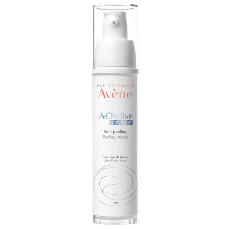 Crema de noapte cu efect exfoliant A-Oxitive, 30 ml, Avene