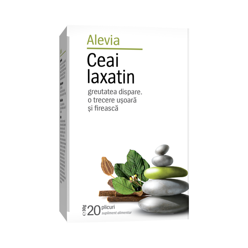Ceai laxatin, 20 plicuri, Alevia imagine produs 2021