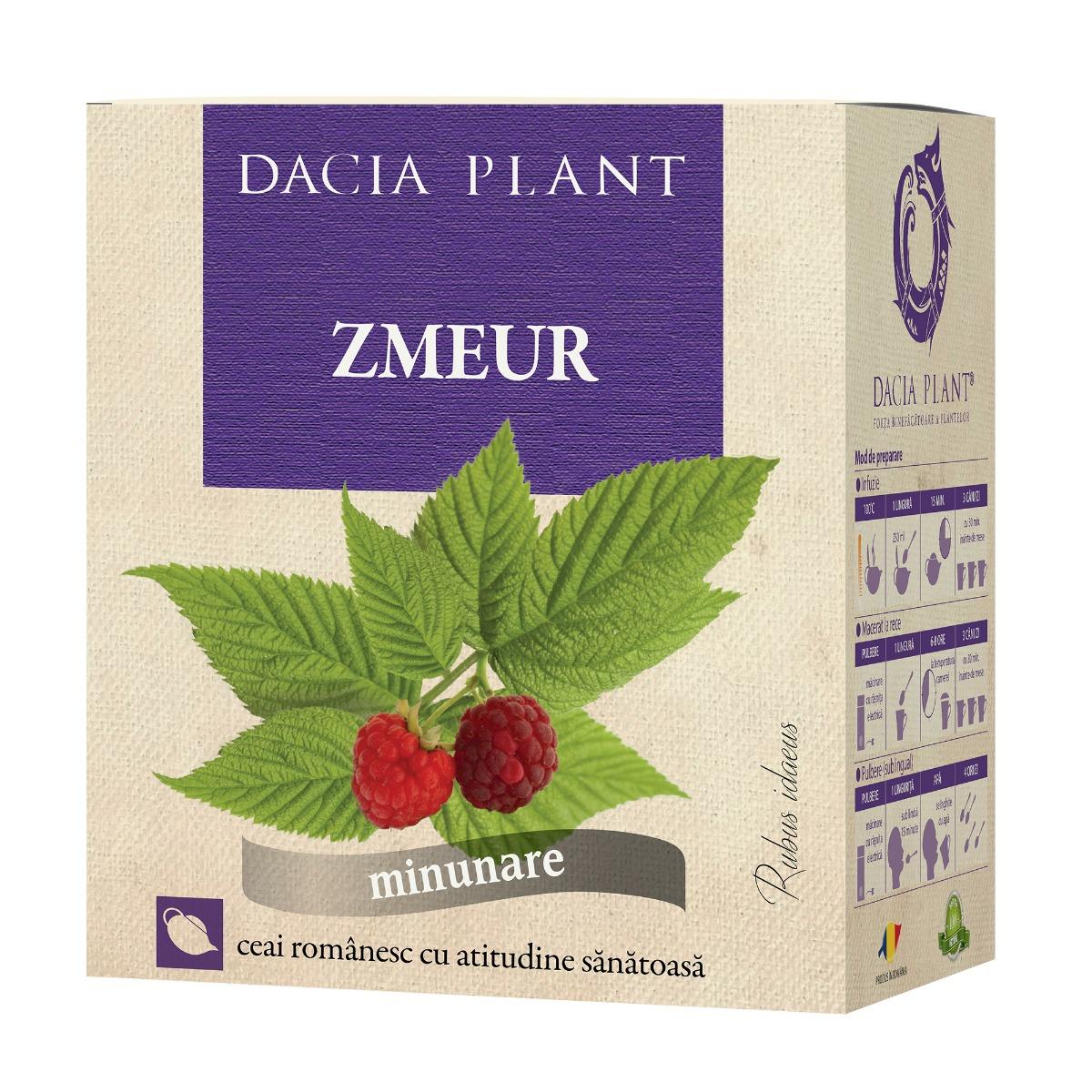Ceai de zmeur, 50g, Dacia Plant drmax.ro