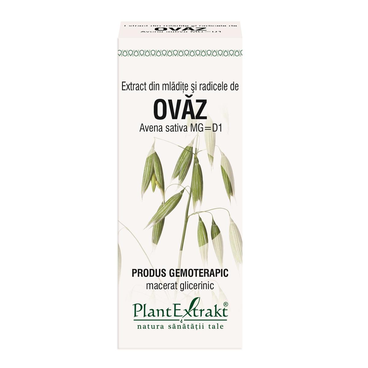 Extract din mladite si radicele de ovaz, 50ml, Plantextrakt drmax.ro