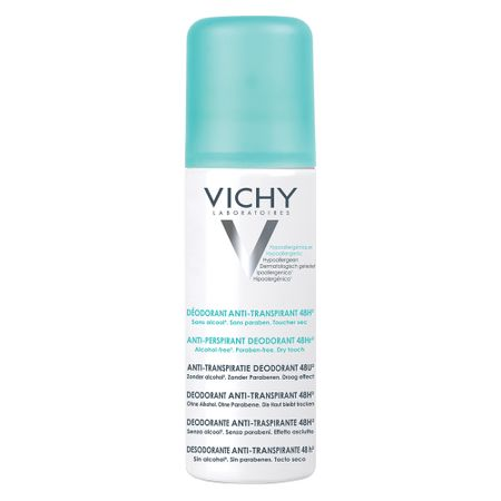 Deodorant spray fara alcool 48h, 125 ml, Vichy