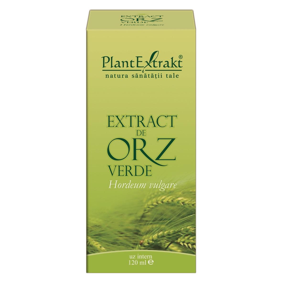 Extract de orz verde, 120ml, Plant Extrakt drmax.ro