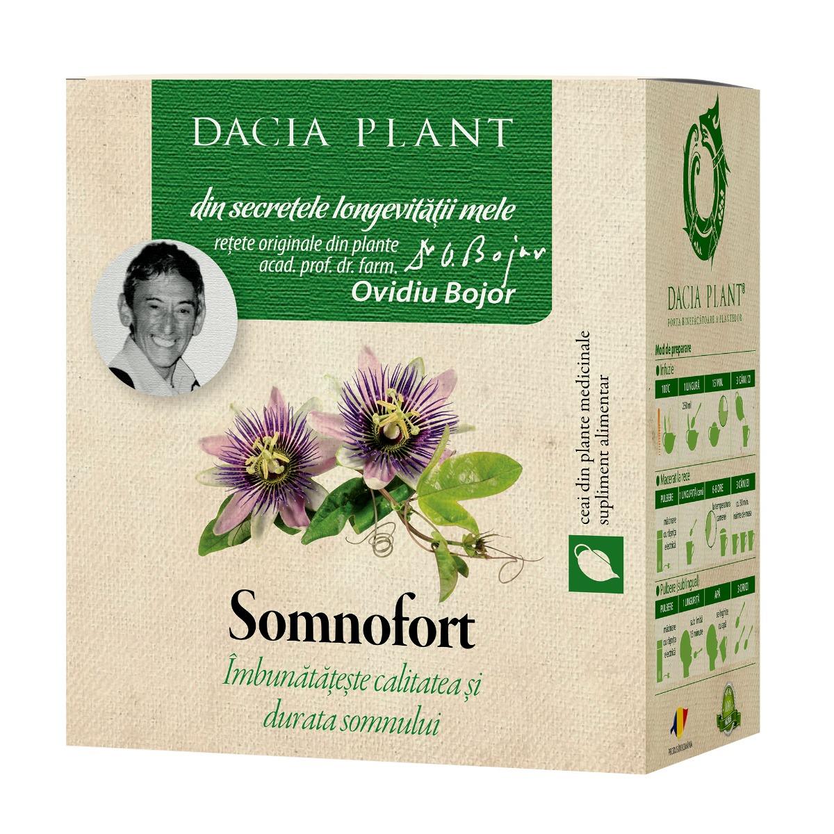 Ceai somnofort, 50g, Dacia Plant drmax.ro