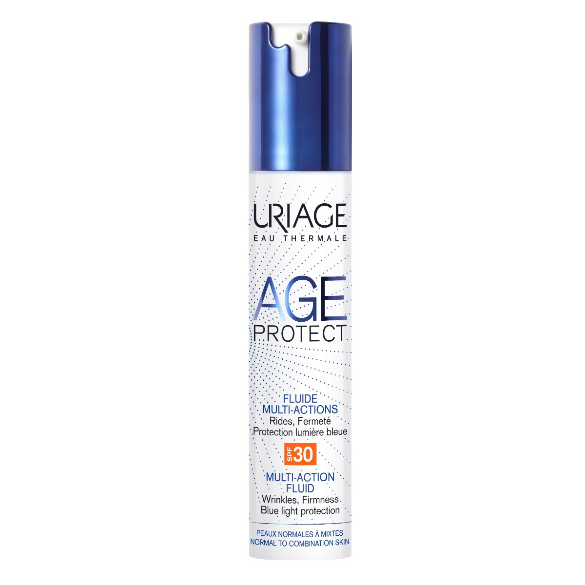 Fluid antiaging multi-action cu SPF 30 Age Protect, 40ml, Uriage imagine produs 2021