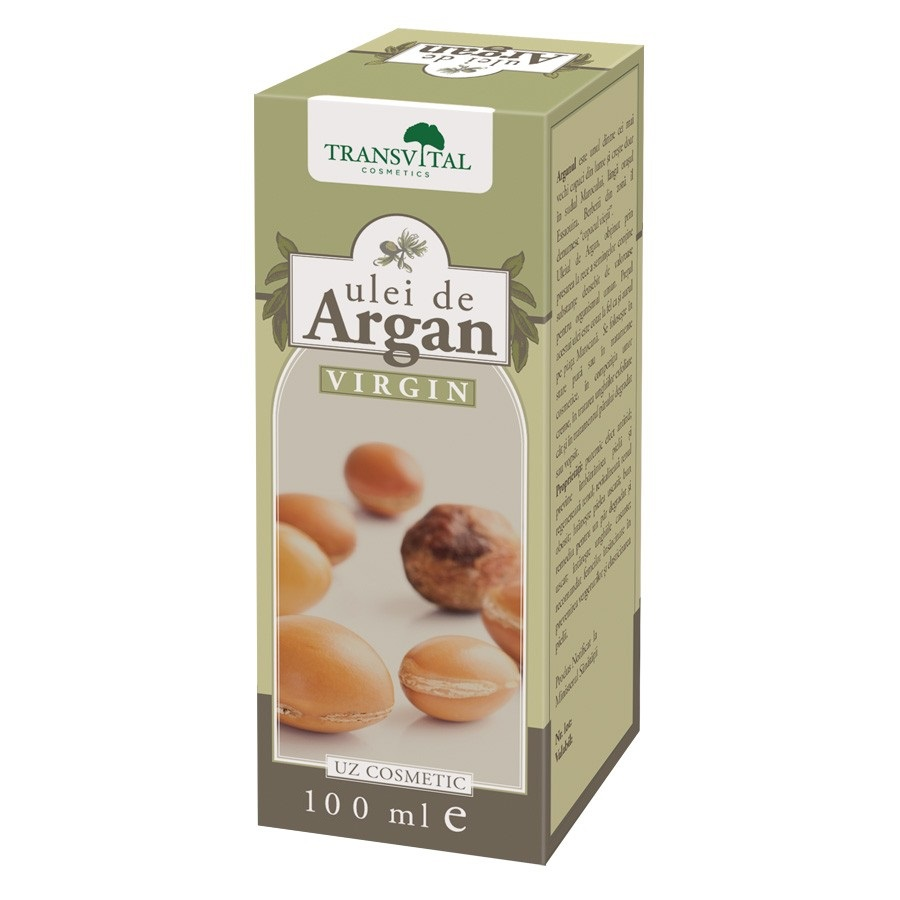 Ulei de Argan virgin, 100ml, Transvital drmax poza