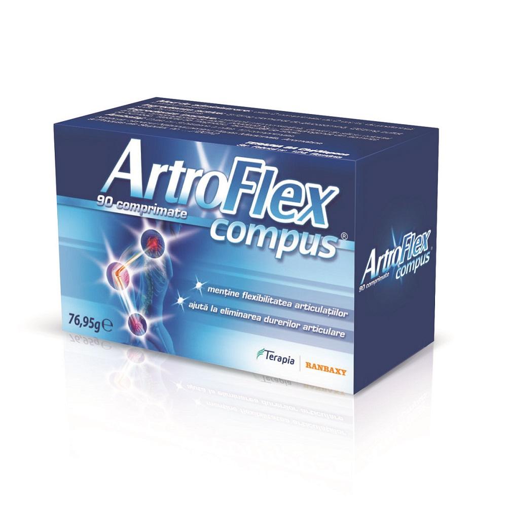 ArtroFlex compus, 90 comprimate, Terapia drmax.ro