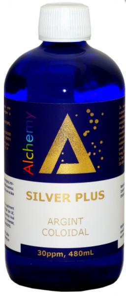 Argint Coloidal SilverPlus Pure Alchemy 30ppm, 480ml, Aghoras drmax.ro