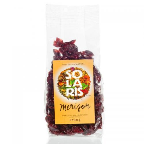 Fructe Uscate Merisor, 100g, Solaris drmax poza
