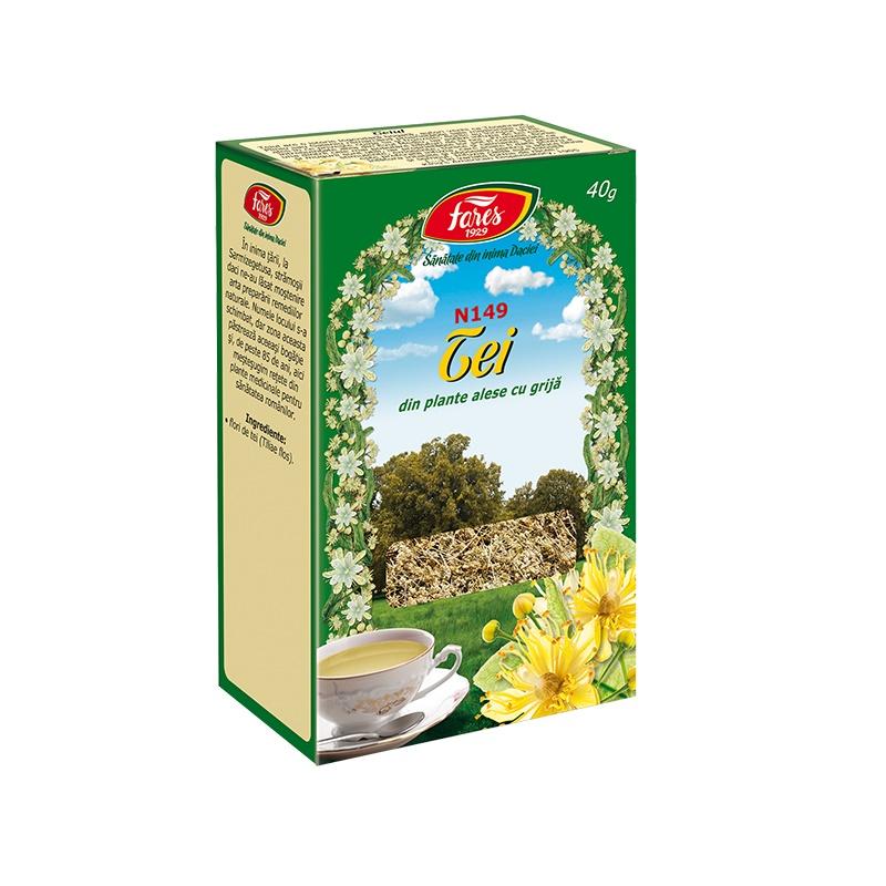 Ceai de Tei, 40 g, Fares drmax poza