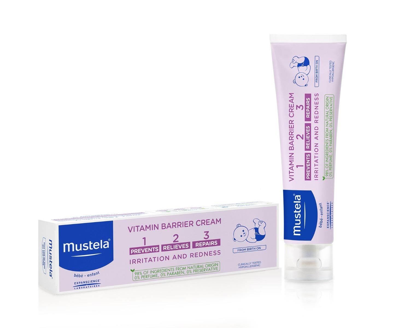Crema-balsam pentru schimbatul scutecului Vitamin Barrier 1-2-3, 50ml, Mustela drmax.ro