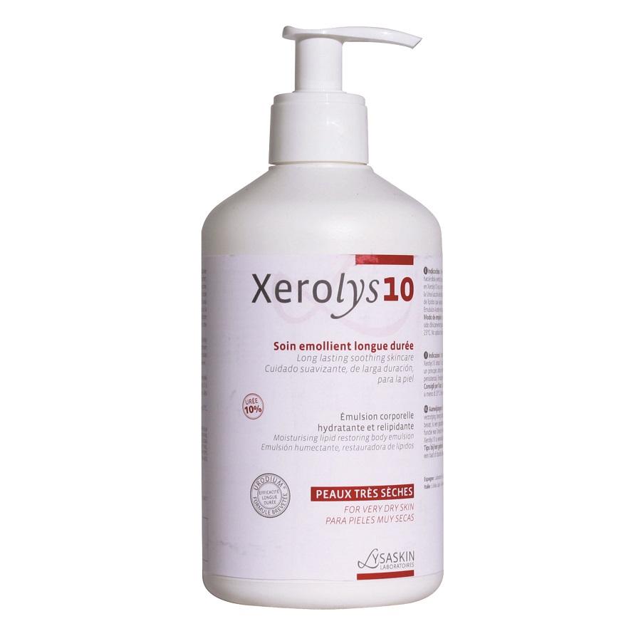 Emulsie pentru piele uscata Xerolys 10, 200ml, Lab Lysaskin drmax.ro