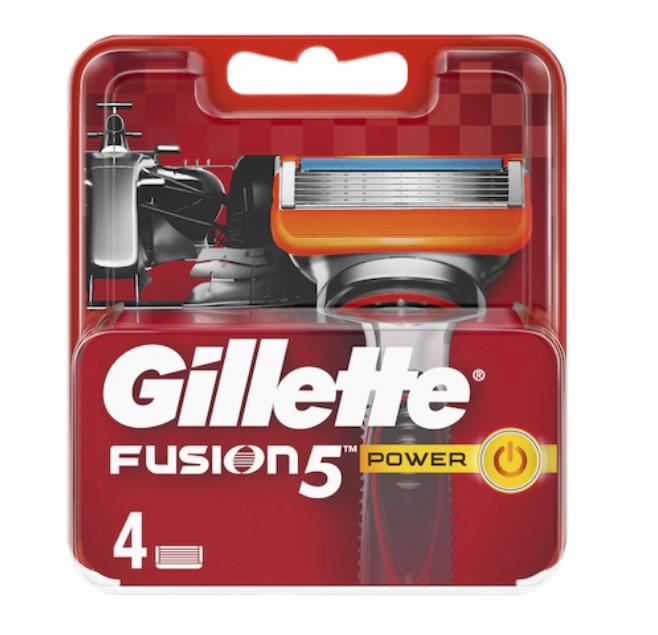 Rezerve aparat de ras Fusion Power, 4 bucati, Gillette